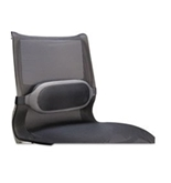- I-Spire Series Lumbar Cushion, 13-3/8w x 6-1/8d x 2-5/8h, Gray