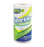 Sparkle ps Two-Ply Premium Perforated Paper Towel, 11 x 8 4/5, White, 70/Roll 12/CT