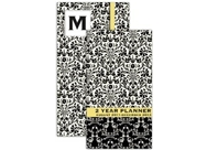 2012 Monogram On-The-Go Organizer calendar