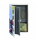 STEELMASTER Travel Book Safe with Keyed Lock, 9.44 x 6.18 x ...