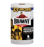 BRAWNY 44511 Pick-A-Size Perforated Paper Towels, 2-Ply, 11 x 6, White, 1 Roll
