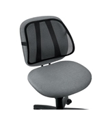 FELLOWES 8036501 / Mesh Backrest Black