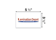 "Akiles 10 Mil File/Index Card Laminating Pouches 3-1/2"" x 5-..."