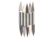 Akiles 5 X 30 Degree Double Headed Carbide CNC Engraving Bit