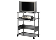 Quartet Euro 43 Inch Wide Screen Monitor Cart, 36 x 45 x 23 ...