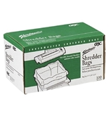 Swingline 1145482 Shredder Bags for 5000, 6000 & 7000 Series Shredders, 40 gal, Clear, 100/BX