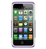OtterBox Commuter Series Case for iPhone 4/4S  - Purple/White