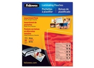fellowes 52018 25pk laminating pouch starter kit