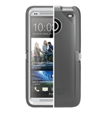OtterBox Defender Series Case for HTC One  - Gray/White
