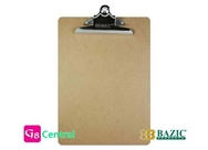 BAZIC Hardboard Clipboard with Sturdy Spring Clip, Standard Size (PACK 24)