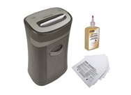 Royal HG2020MX 20-Sheet Cross-Cut Shredder + Shredder Oil 12...