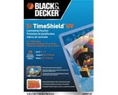 BLACK + DECKER TimeShield UV Thermal Laminating Pouches, 5 x 7 Photo, 5 mil - 25 Pack (LAM5X7-25)