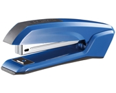 Bostitch Ascend Antimicrobial Stapler with Integrated Staple Remover and Staple Storage (B210R-BLUE)