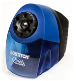 Bostitch QuietSharp 6 Classroom Electric Pencil Sharpener, 6-Holes, Blue (EPS10HC)