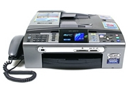 Brother Refurbished MFC-685CW Color Inkjet All-in-One with W...
