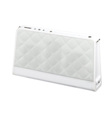 AR for Her Fashion Bluetooth Wireless Speaker - Quilted Whit...