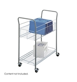 Safco Products Economy Mail Cart, Gray, 7754
