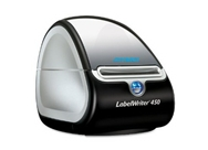 DYMO LABELWRITER 450 Label Printer,(1752264), USB, PC/MAC, Printer and Software, 51 Labels Per Minute, black/silver.