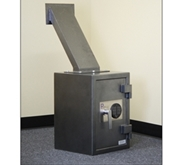 FD-2014LS Through-the-Wall Depository Safe w/ Drop Chute