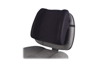 "Fellowes High-Profile Backrest - 13"" x 4"" x 12"" - Black"