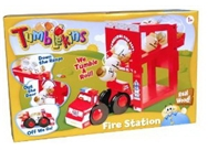 Great Gizmos Tumblekins Fire Station Playset