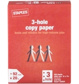 Staples 3-Hole Punch Multipurpose Copy Laser Inkjet Printer ...