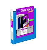 Avery Durable View Binder with 1.5 inch Rings, Dark Blue, 1 ...
