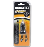 Duracell Dual Mini USB Car Charger for iPhone 3G/3GS/4/4s