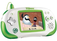 LeapFrog Leapster Explorer Learning Game System, Green