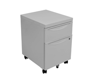 Luxor Mobile Pedestal File Cabinet w/ Locking Drawer Model N...