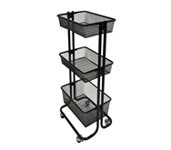 Luxor Kitchen/ Utility Cart Model Number- KUC-BK