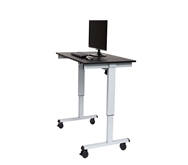 "Luxor 48"" Electric Standing Desk  Model Number- STANDE-48-AG/BO"