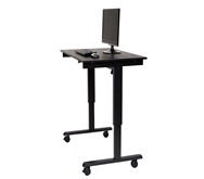 "Luxor 48"" Electric Standing Desk  Model Number- STANDE-48-BK/BO"