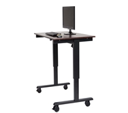 "Luxor 48"" Electric Standing Desk  Model Number- STANDE-48-BK/DW"