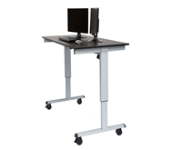 "Luxor 60"" Electric Standing Desk  Model Number- STANDE-60-AG/BO"