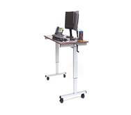 "Luxor 60"" Electric Standing Desk  Model Number- STANDE-60-BK/DW"