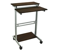 "Luxor 31.5"" Adjustable Stand Up Desk Model Number- STANDUP-31.5-DW"