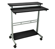 "Luxor 40"" Adjustable Stand Up Desk Model Number- STANDUP-40-B"