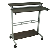 "Luxor 40"" Adjustable Stand Up Desk Model Number- STANDUP-40-DW"