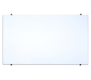 Luxor 48 X 34 Magnetic Wall-Mounted Glass Board Model Number- WGB4834M