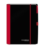 Cambridge Accents Business Notebook, Red, Legal Rule, Medium...