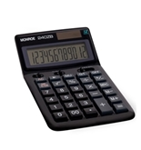 MONROE 240Z 12-DIGIT HANDHELD CALCULATOR (BLACK)