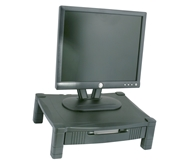 Adjustable Monitor/LCD/Printer/Laptop Stand - Single Level w/drawer