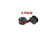 NEW Compatible Nukote BR80C Calculator Ribbon Black/Red (6-p...