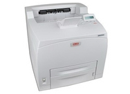 Okidata B6500 USB 2.0/Parallel/Serial/Ethernet Monochrome Laser Printer (Beige)