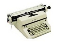 "Olivetti Linea 198 19.2"" B1 Refurbished Typewriter"