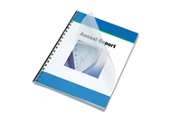 Gloss Clear Poly Letter Size Binding Cover 200 Pack, 12 Mil
