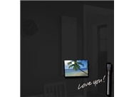 Royal Sovereign RS-WB14BLK Magnetic Glass Drywipe Board Blac...
