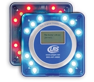Blue Guest Coaster Call Pager with LCD