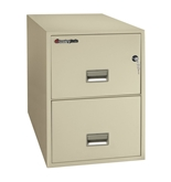 "Sentry 2G2531 2 Drawer 25"" Deep Fire Impact And Water Resist..."